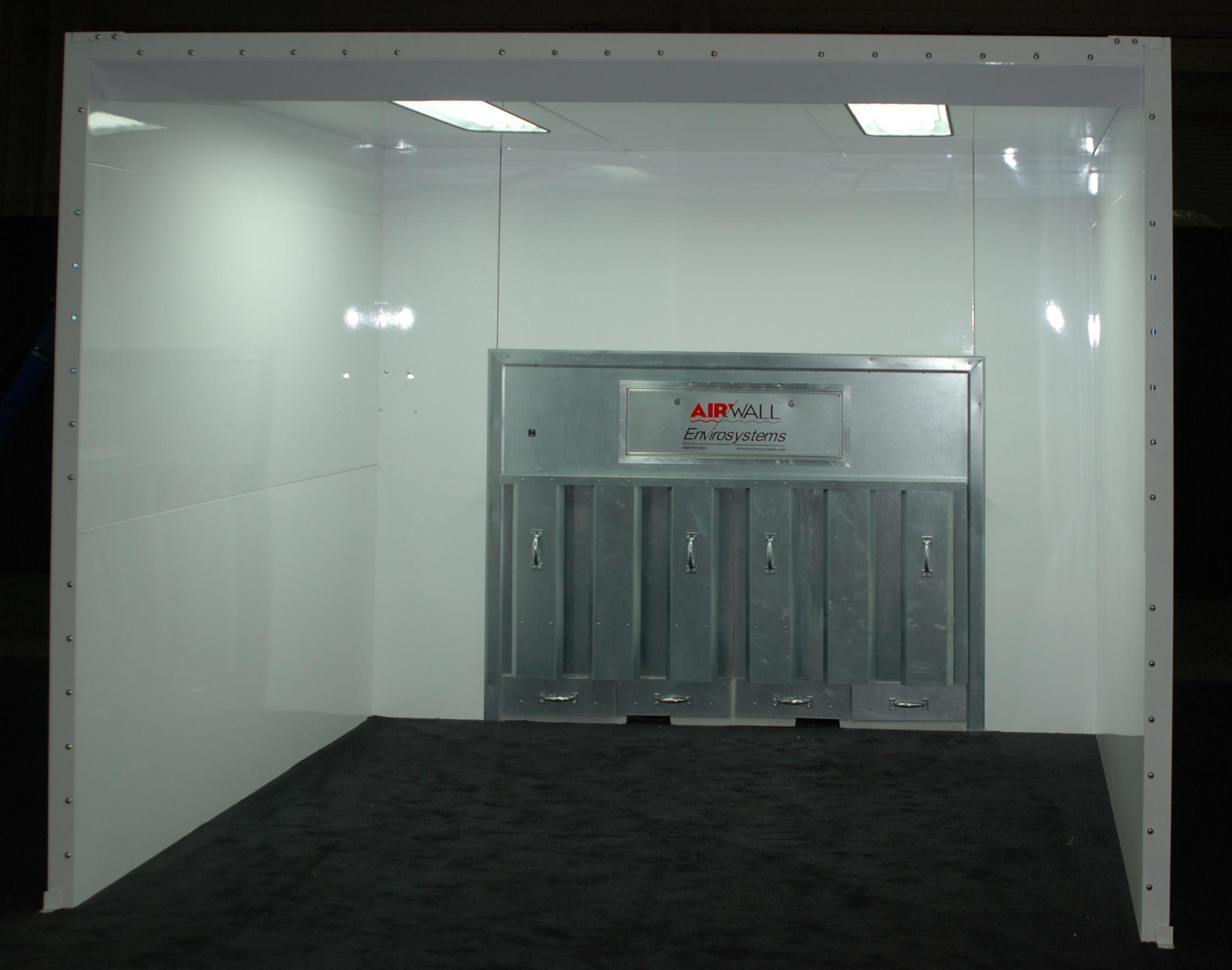 White Booth with AirWall - Copy 2